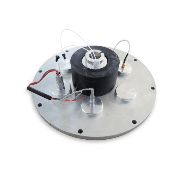 QMH-glove box: QCM-D measuring head for glove box application
